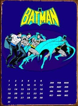 Plechová cedule BATMAN TRANSFORM