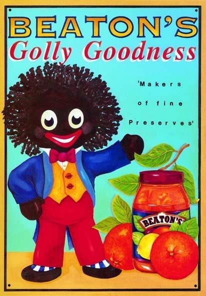 Plechová cedule GOLLY GOODNESS