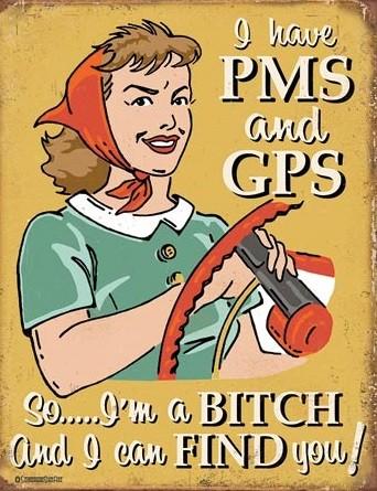 Plechová cedule  Schonberg - PMS & GPS