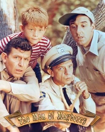 Plechová cedule Griffith - Men of Mayberry