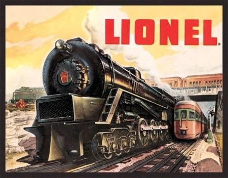 Plechová cedule Lionel 5200