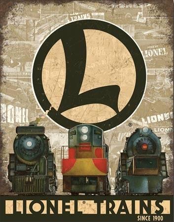 Plechová cedule Lionel Legacy