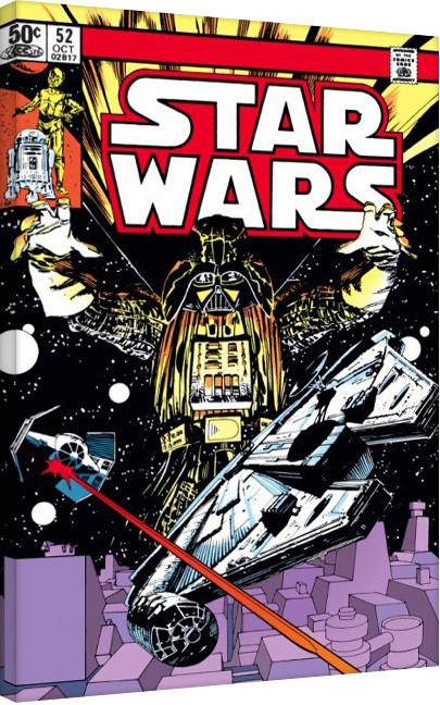 Gwiezdne wojny - Space Chase Obraz na płótnie