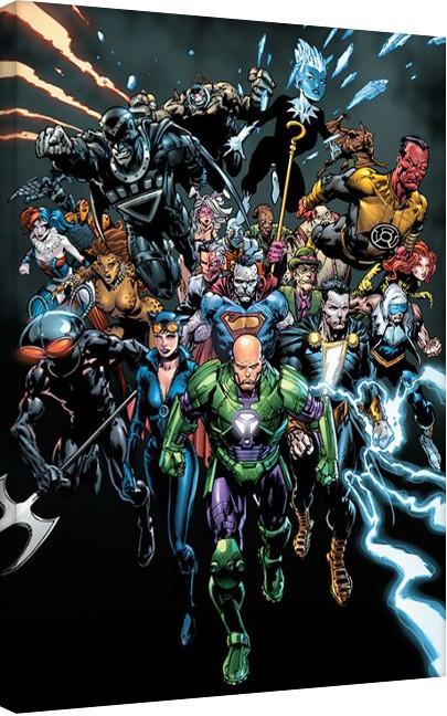 Obraz na płótnie Liga Sprawiedliwych - Heroes