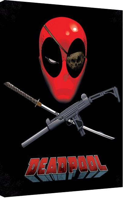 Deadpool - Eye Patch Obraz na płótnie