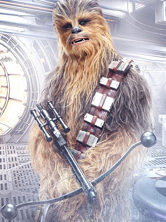 Gwiezdne wojny: Ostatni Jedi- Chewbacca Bowcaster Obraz na płótnie