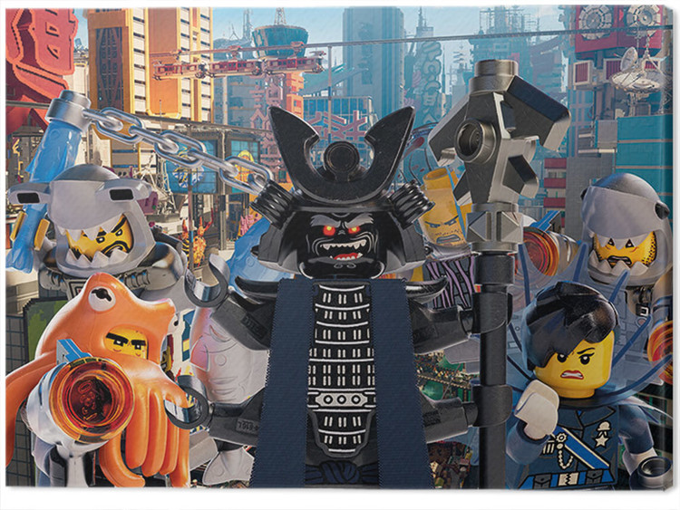 Lego Ninjago Movie Garmadon Group Obraz Na Płótnie Kup Na Posterspl