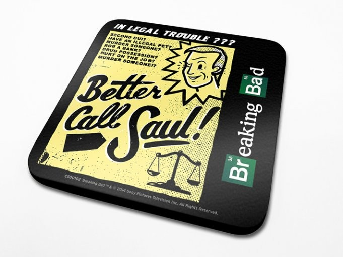Breaking Bad - Better Call Saul! Podloga pod kozarec