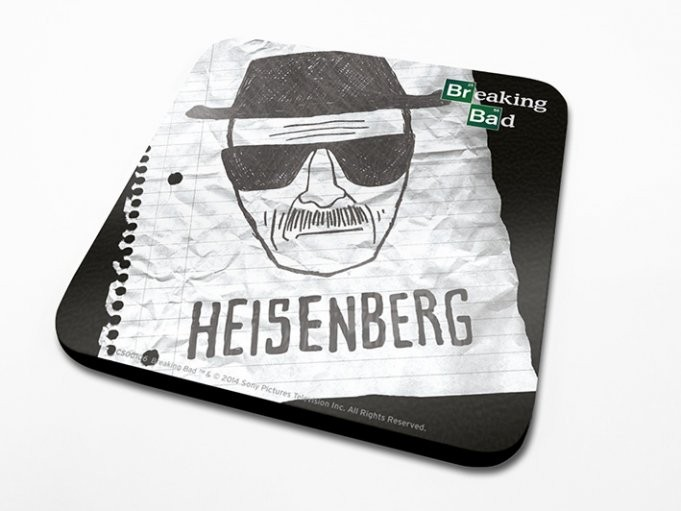 Breaking Bad (Perníkový tatko) - Heisenberg Paper Podloga pod kozarec