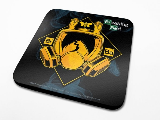 Breaking Bad (Perníkový tatko) - Mask Podloga pod kozarec