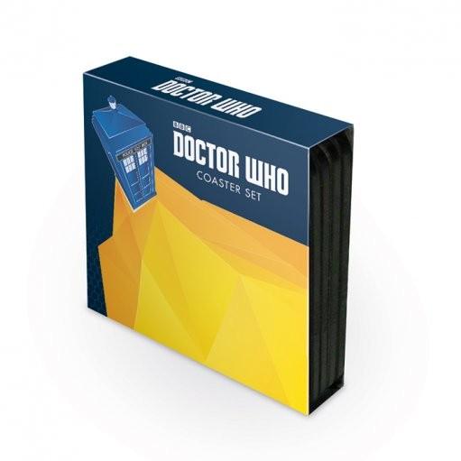 Doctor Who - 4 coaster set  Podloga pod kozarec