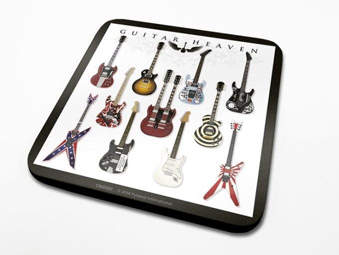 Guitar Heaven Podloga pod kozarec