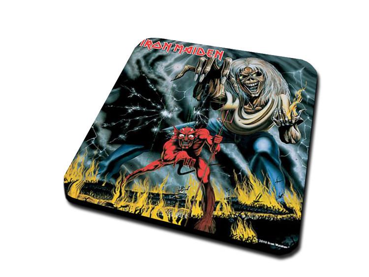 Iron Maide - Number Of The Beast Podloga za čašu