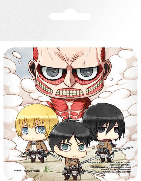 Podtácek Attack On Titan (Shingeki no kyojin) - Group