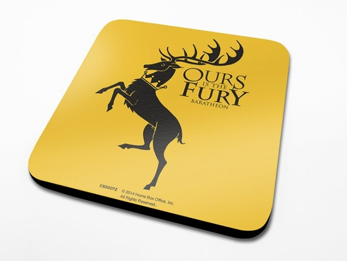 Podtácek Hra o Trůny (Game of Thrones) - Baratheon