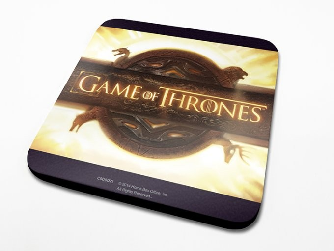 Podtácek Hra o Trůny (Game of Thrones) - Opening Logo