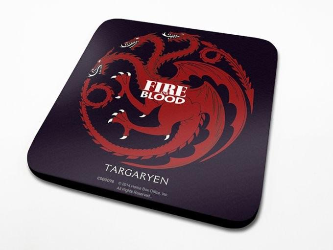 Podtácek Hra o Trůny (Game of Thrones) - Targaryen