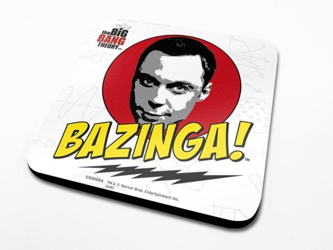 Podtácek The Big Bang Theory (Teorie velkého třesku) - Bazinga