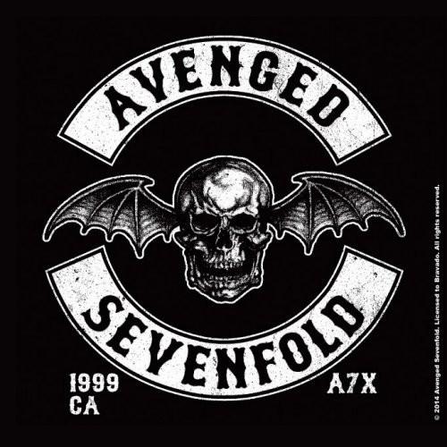Podtácek Avenged Sevenfold - Deathbat Crest