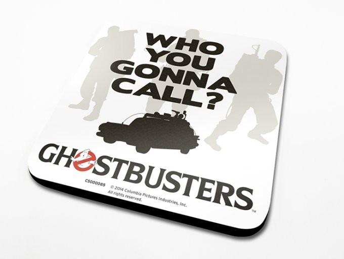 Podtácek Krotitelé duchů - Who You Gonna Call?
