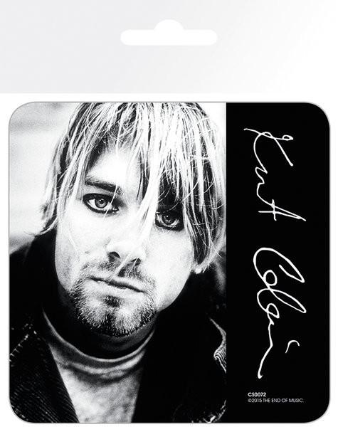 Podtácek  Kurt Cobain - Signature
