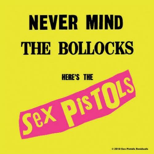 Podtácek Sex Pistols – Never Mind The Bollocks