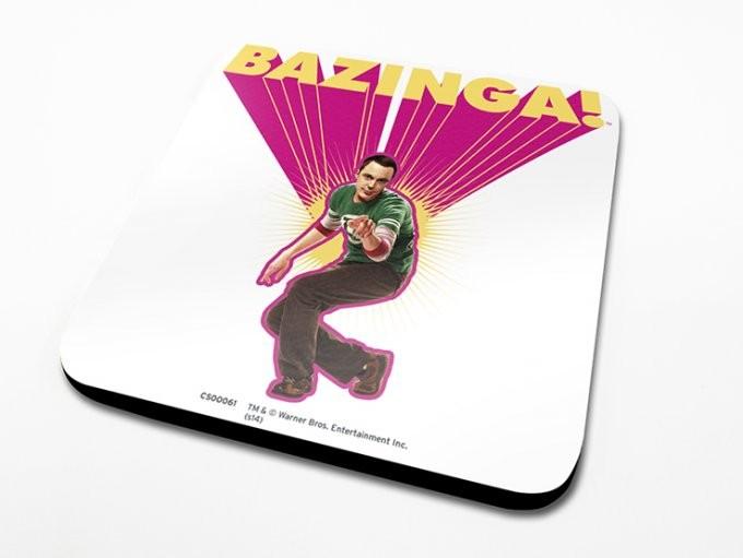 The Big Bang Theory - Pink Podtácok