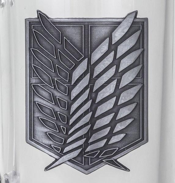 Pohár  Attack on Titan (Shingeki no kyojin) - Scout Symbol