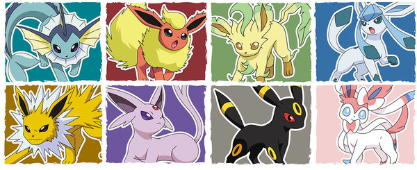 Hrnek Pokemon - Eevee Evolution