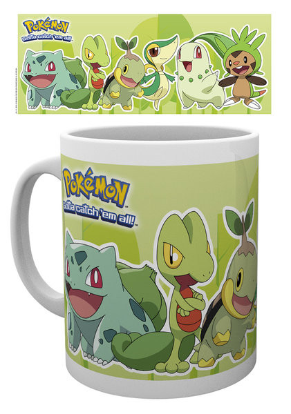 Taza Pokémon - Grass Partners