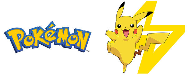 Hrnek Pokemon - Logo And Pikachu