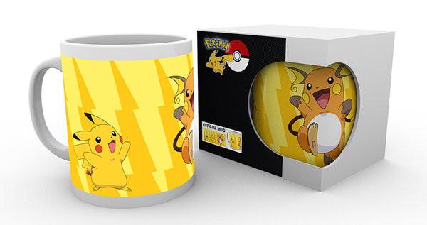Tazza Pokémon - Pikachu Evolve