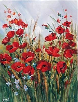 Poppies Festmény reprodukció