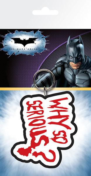 Batman - The Dark Knight Joker Why So Serious Portachiavi