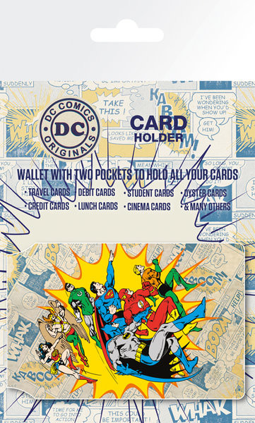 DC Comics - Heroes and Villians Portcard