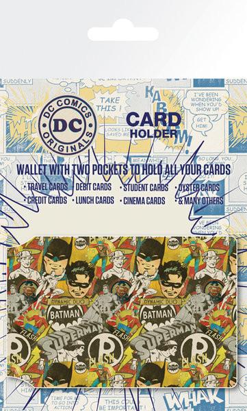 DC Comics - Retro Cast Porte-Cartes