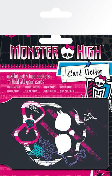 MONSTER HIGH - Logo Porte-Cartes