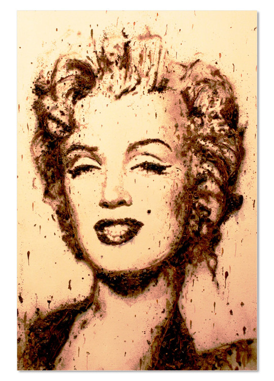 Portrait - Marilyn Monroe Modern tavla