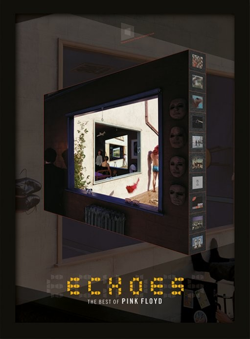 Inramad poster Pink Floyd - Echoes
