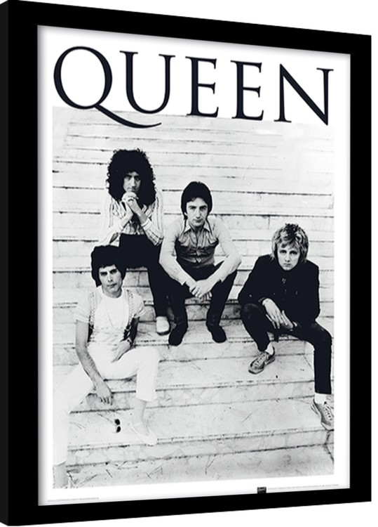 Inramad poster Queen - Brazil 1981