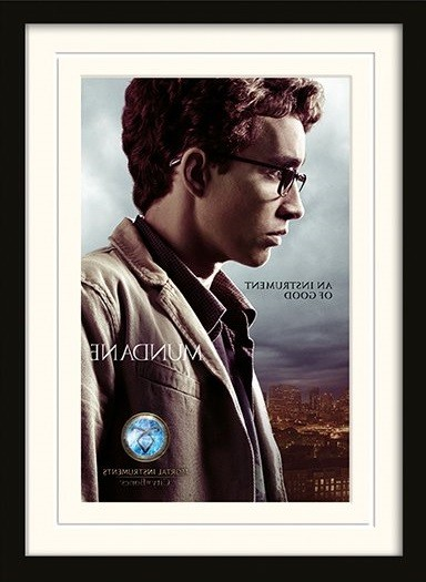 THE MORTAL INSTRUMENTS : STAD AV SKUGGOR – simon Inramad poster