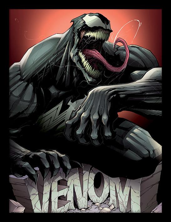 Venom - Rock Inramad poster