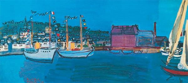 14.července 1933 v Deauville - 14 July 1933 in Deauville Kunstdruk