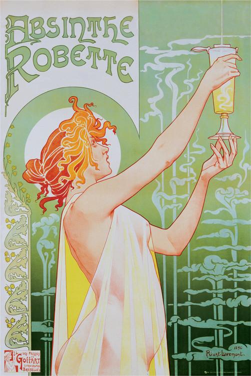 Póster Absinthe Robette
