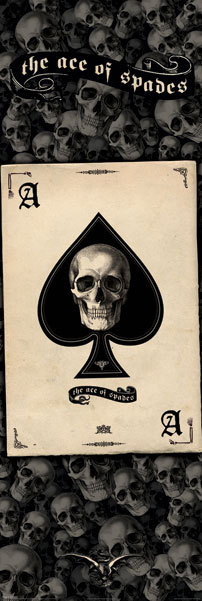 Ace of spades poster, Immagini, Foto