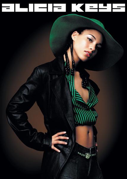 Alicia Keys - pose Poster