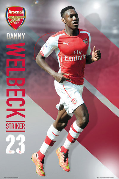 Poster Arsenal FC - Welbeck 14/15