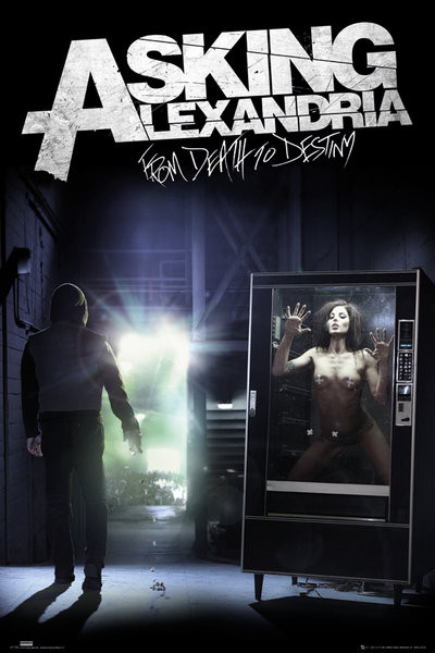 Poster Asking Alexandria - from death to destiny