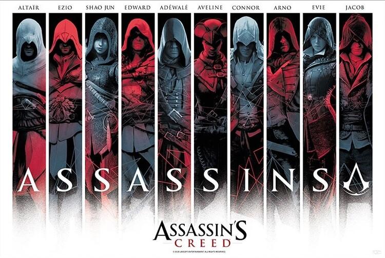 Poster Assassin's Creed - Assassins
