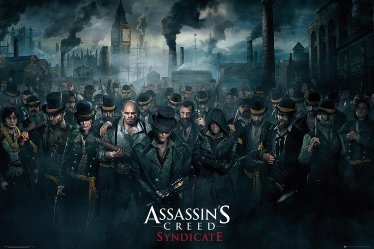 Póster Assassin's Creed Syndicate - Crowd